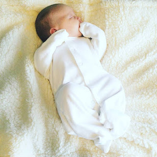 Harper Violet Headlam was born via water birth on the 4th October at 10:30 am weighing 9lbs 11ozs